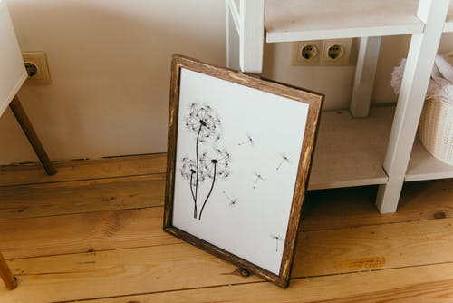 Dandelion Flower Painting