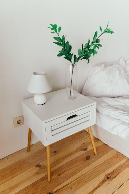 Fotos de stock gratuitas de adentro, almohada, apartamento, cama