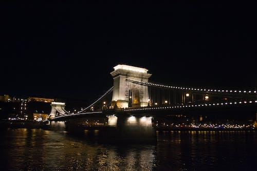 Free stock photo of budapest, chain bridge, europe