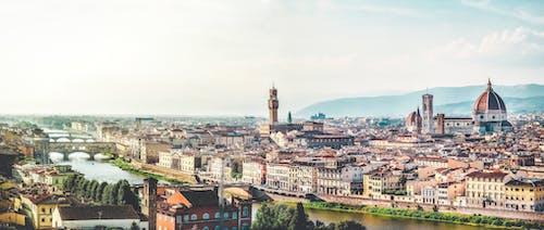 bulutlar, Floransa, floransa katedrali, görmek içeren Ücretsiz stok fotoğraf
