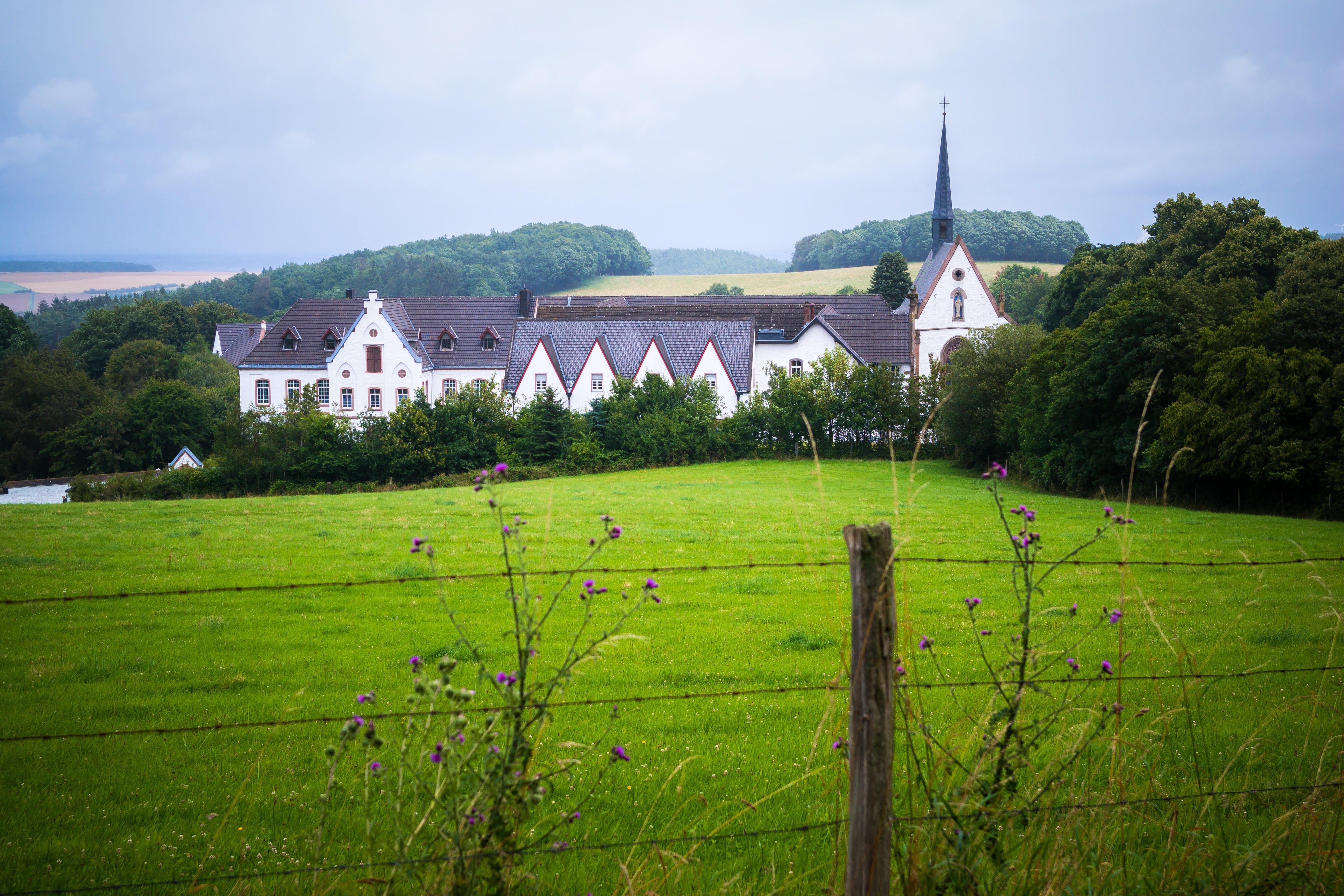 abbey, architecture, building