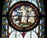 art, window, church