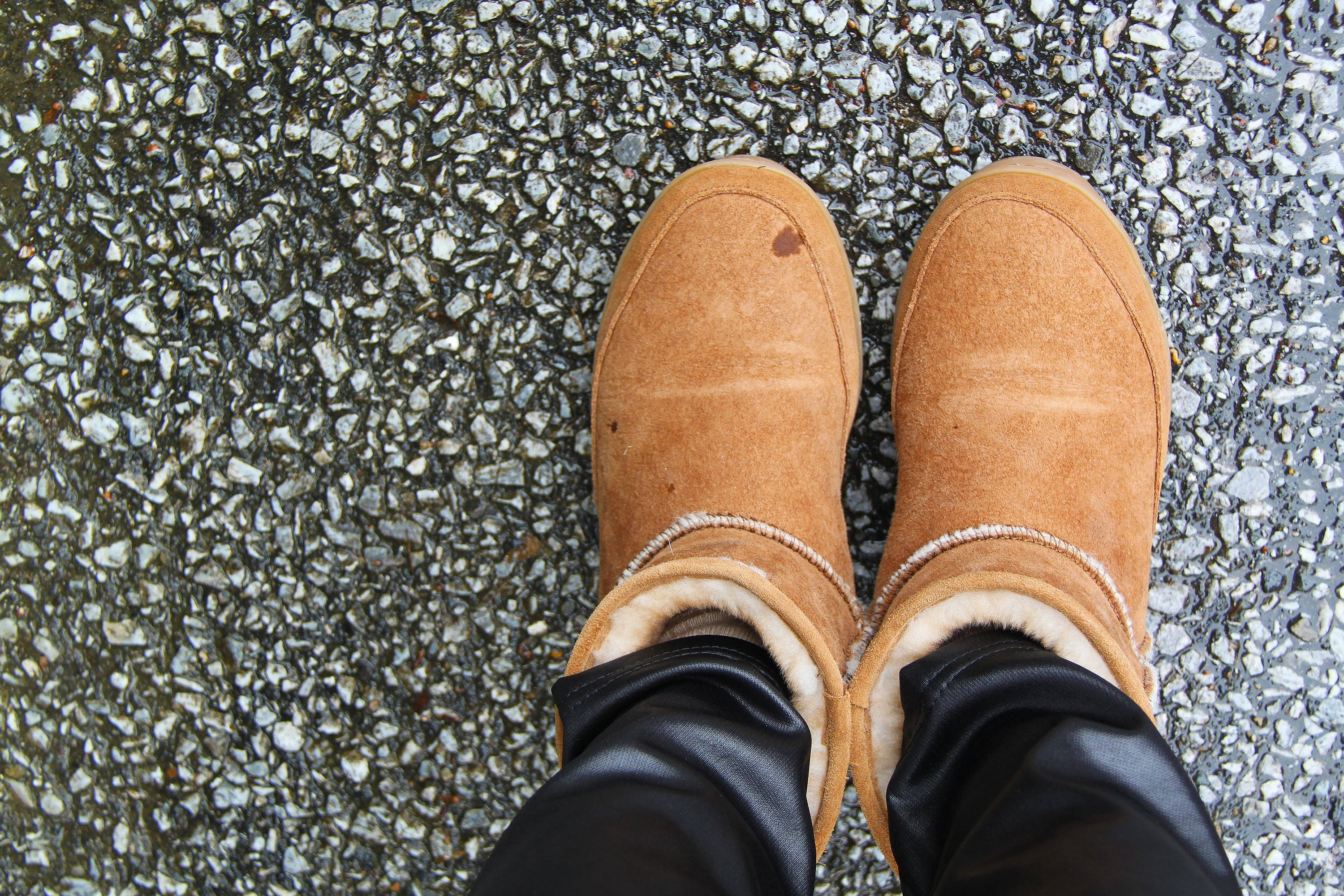 boots, close-up, cold