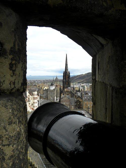 Foto d'estoc gratuïta de castell d'edimburg, edinburgh