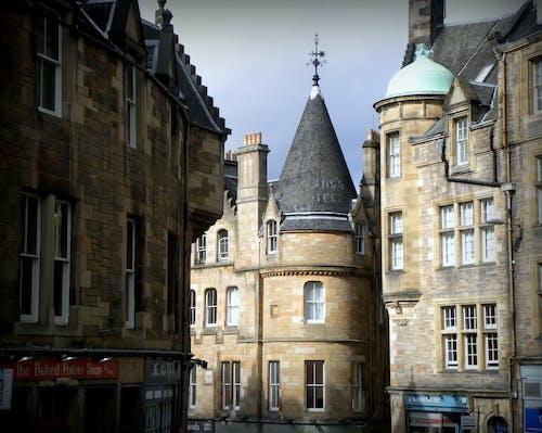 Gratis stockfoto met Edinburgh, historisch centrum