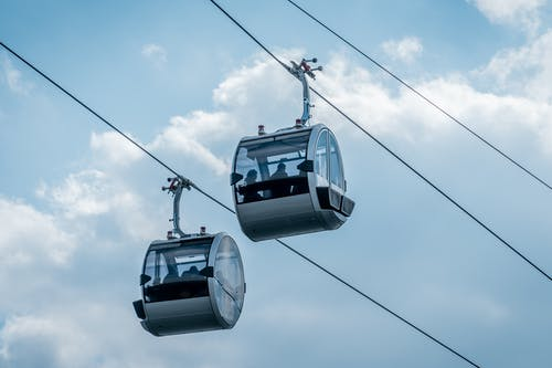 Free stock photo of cable car, cable cars