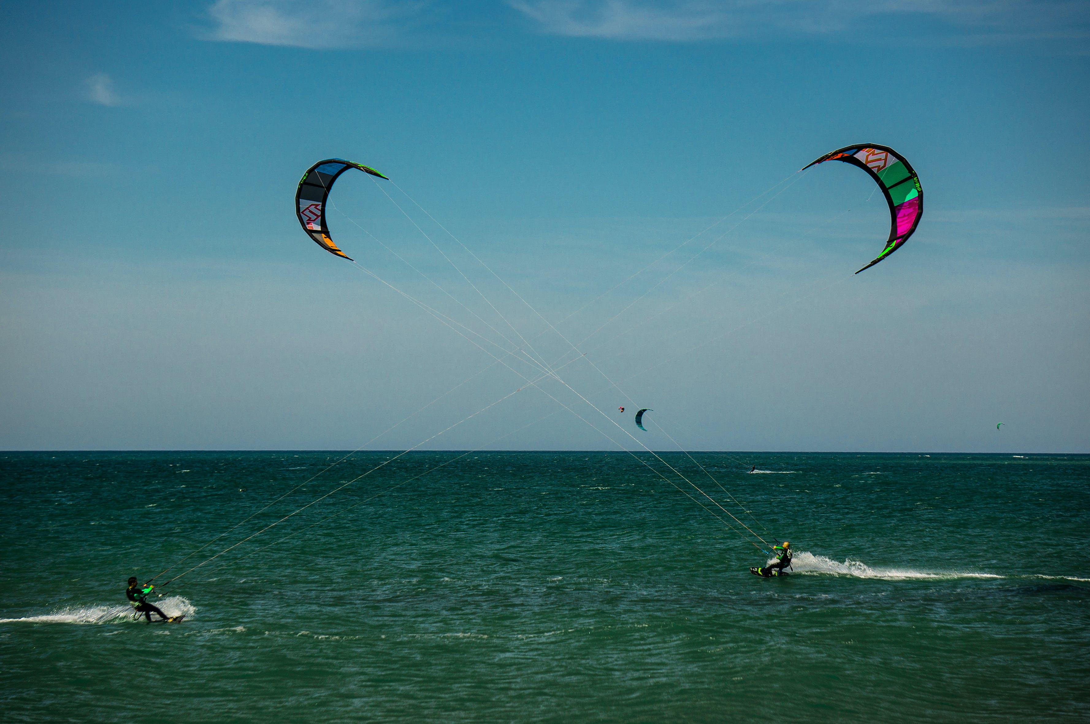 Δωρεάν στοκ φωτογραφιών με αιολική ενέργεια, άνεμος, γαλάζιος, γαλάζιος ουρανός