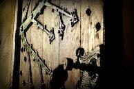 wood, art, dark