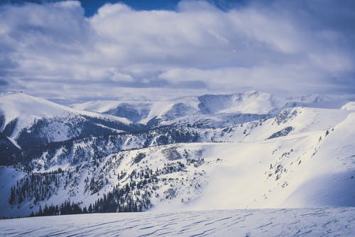 Foto d'estoc gratuïta de alt, constipat, hivern, muntanya