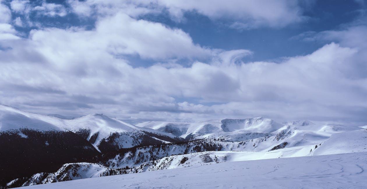 hora, krajina, ledovec