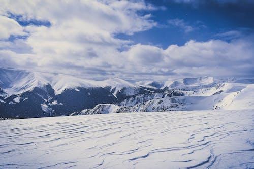 Gratis lagerfoto af bjerg, bjergtinde, frossen, frost