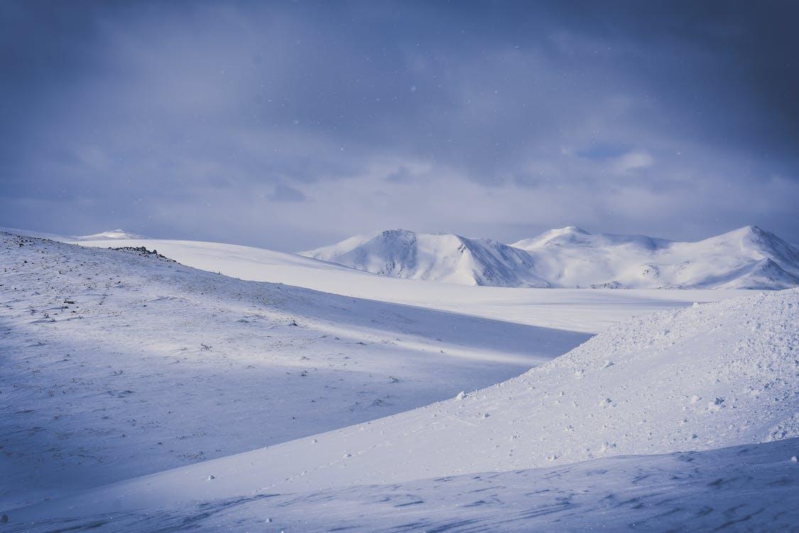 bulutlar, buz, buz gibi hava