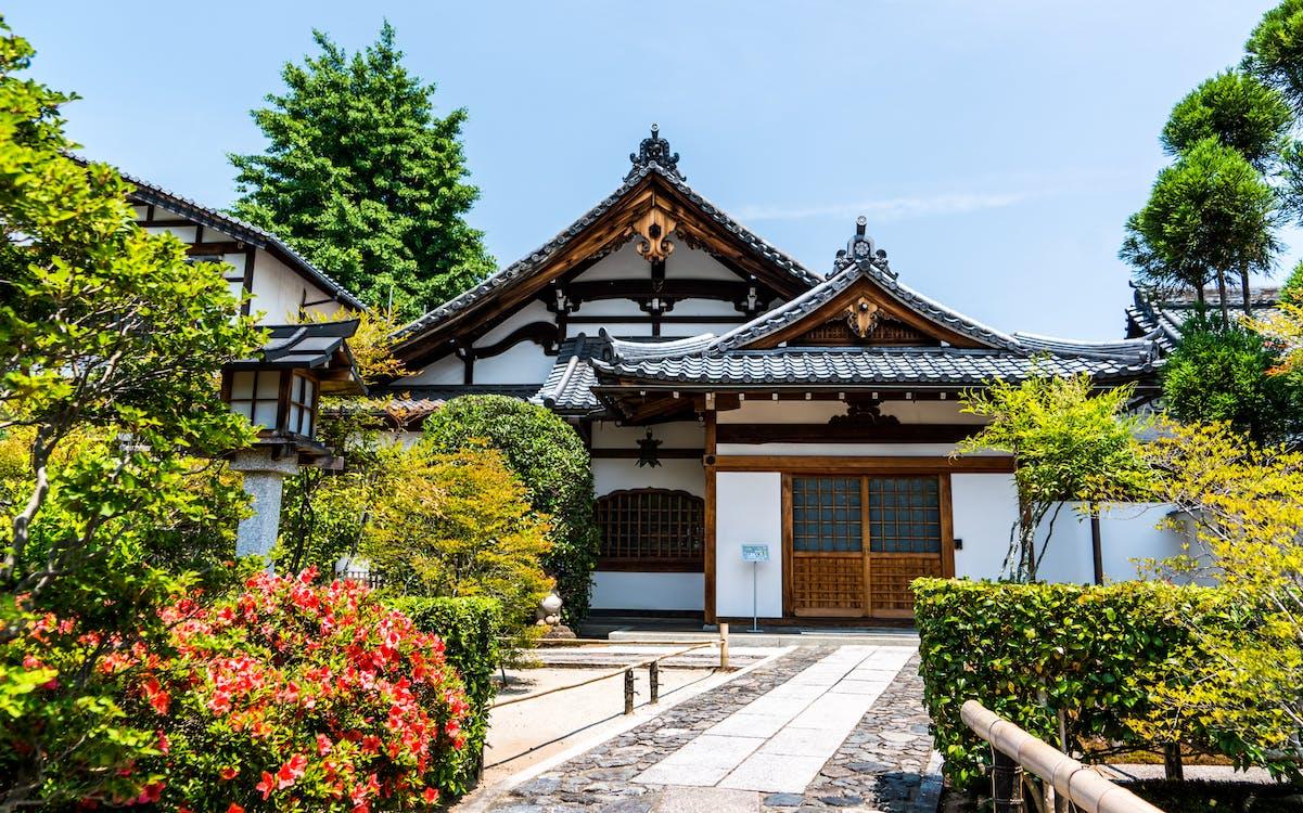 aasialainen, arashiyama, arkkitehtuuri