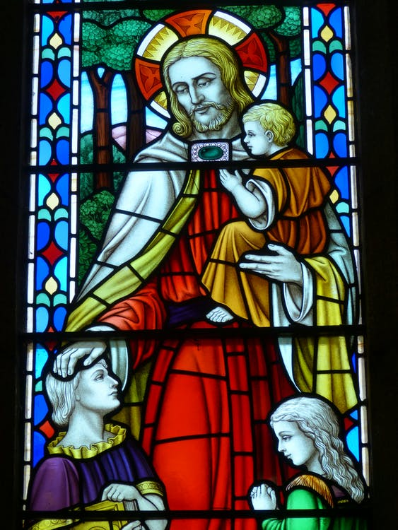 Jesus Christ Stained Glass Artwork