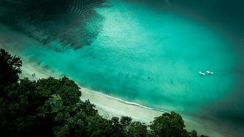 Photos gratuites de baie, beau vallon, bleu