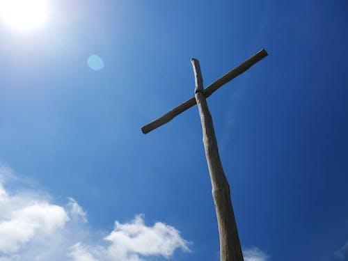 Immagine gratuita di cattolicesimo, cielo, cielo azzurro, cristianesimo