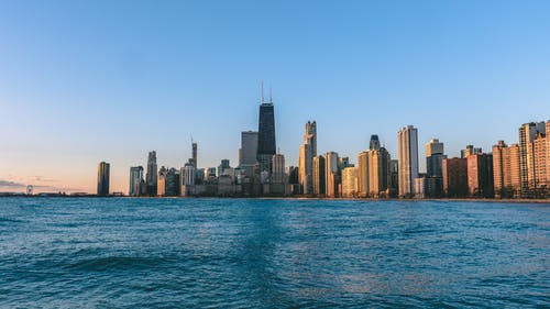 Photo of City Near Ocean