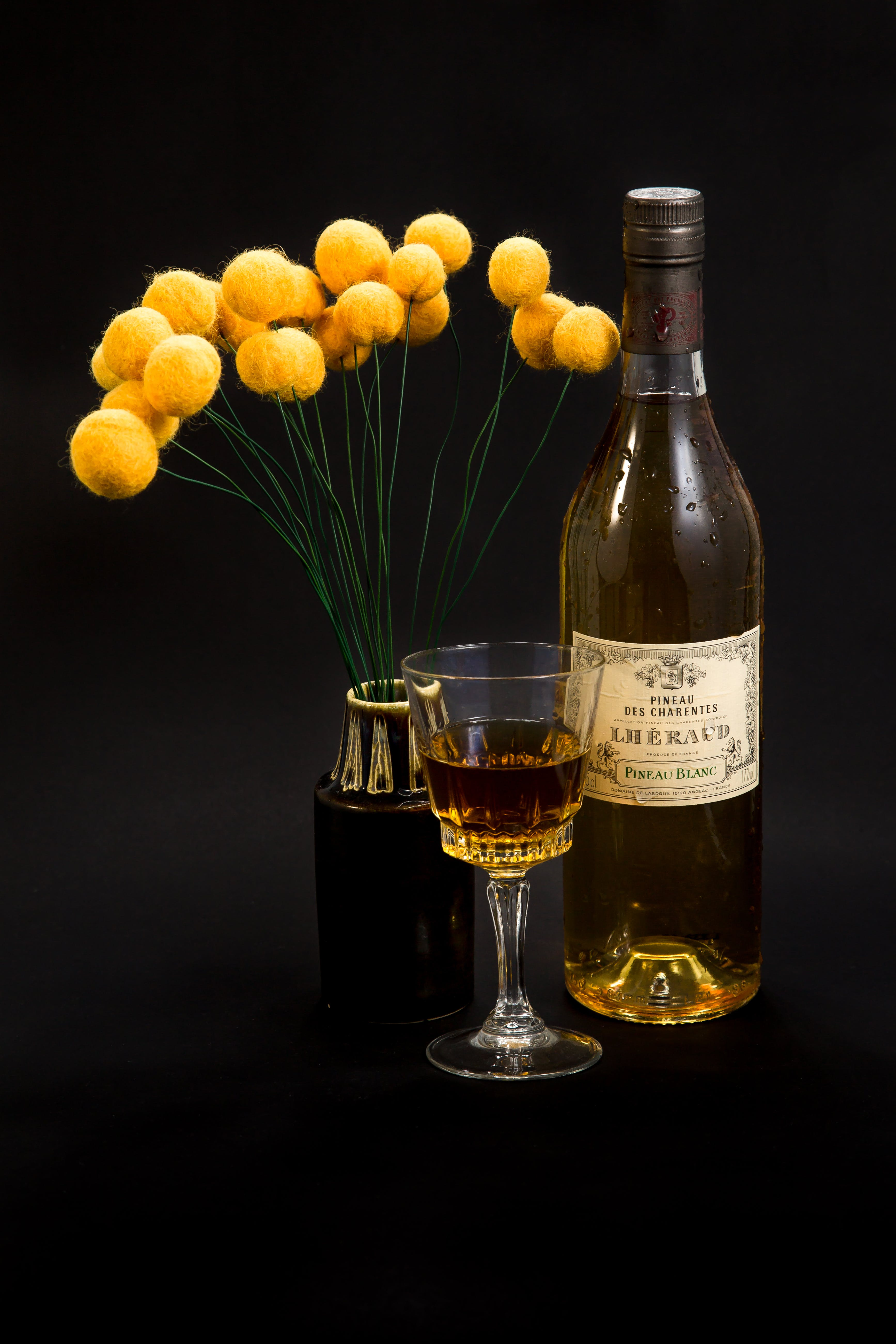Free stock photo of bottle, french wine, glass, pineau
