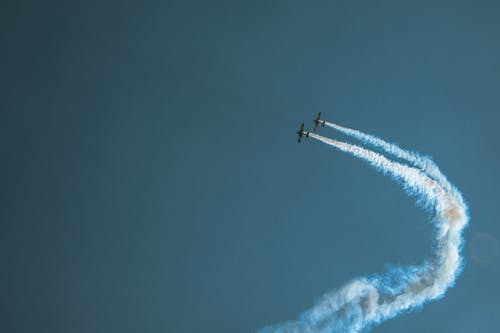 Photo of Airplanes in Mid Air