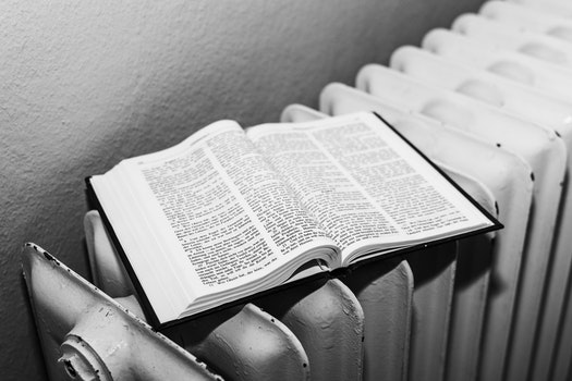 Free stock photo of black-and-white, religion, book, christianity