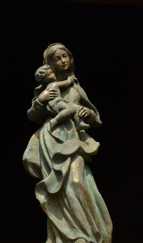 Free stock photo of Christ, church, image, maria