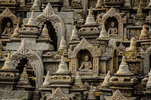 Free stock photo of model, macro, religion, temple