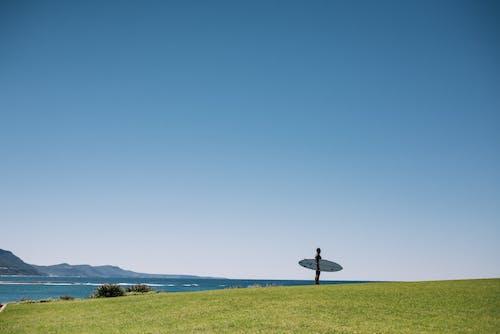 Gratis arkivbilde med blå himmel, ferie, gress, gressfelt