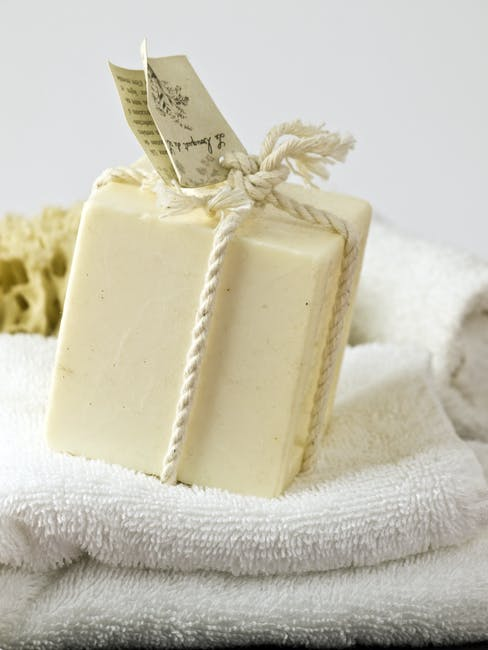 DIY Lemon Lavender Soap...