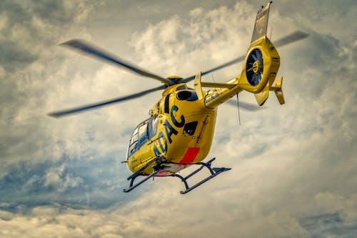 Kostnadsfri bild av adac, flyg, flygplan, gul ängel