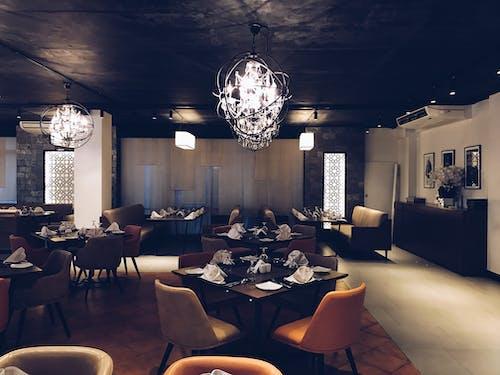 レストラン, 食べるの無料の写真素材