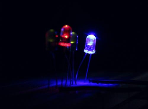 led 燈, 藍色, 電路板 的 免费素材照片