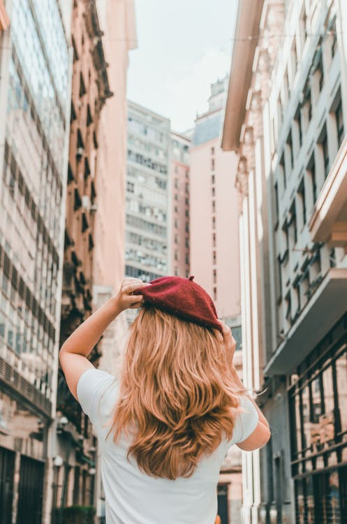 Photo of Girl Wearing Red Hat