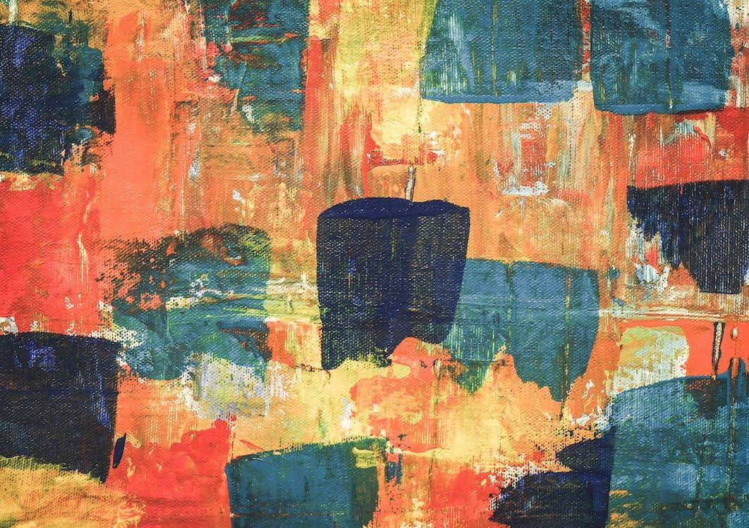 4k-baggrund, abstrakt ekspressionisme, abstrakt maleri