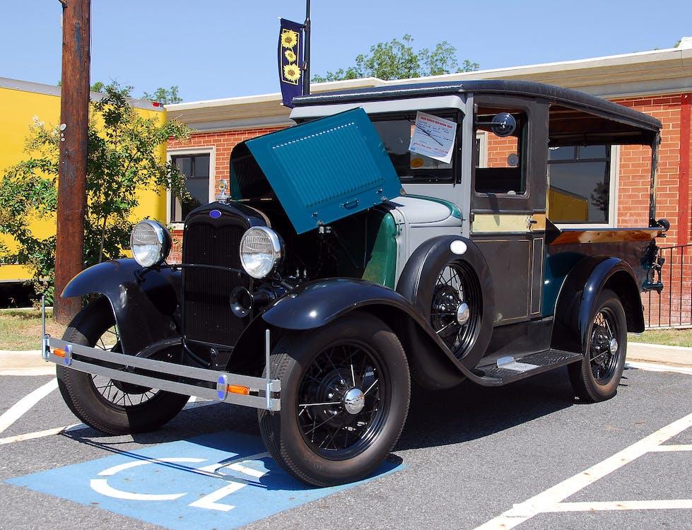 Vintage Black Vehicle