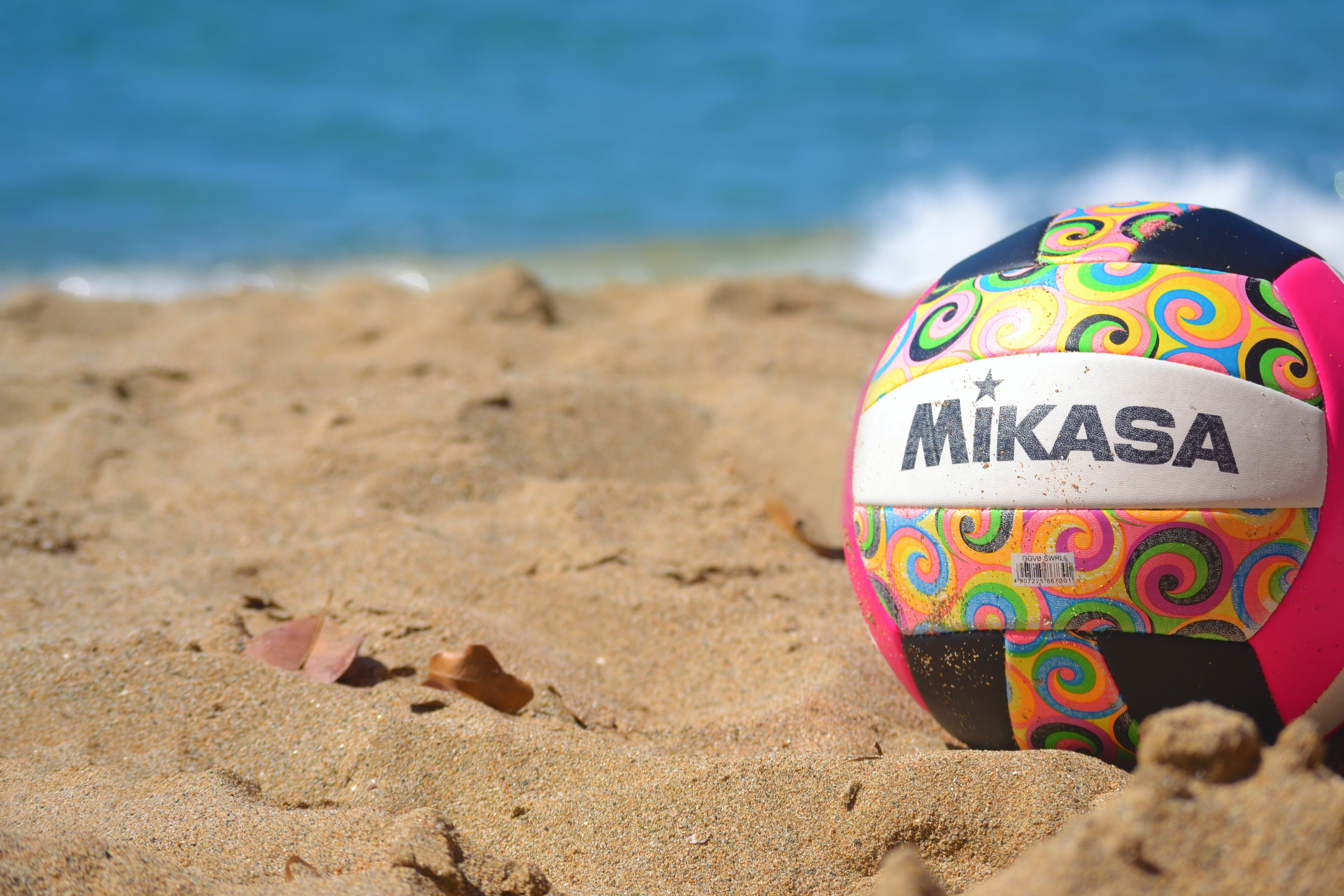 Free stock photo of ball, beach, sand, volleyball