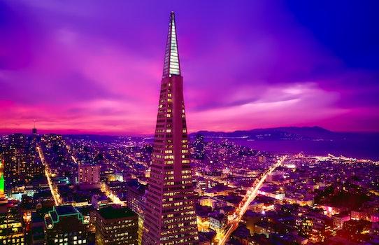 Free stock photo of city, sky, sunset, landmark