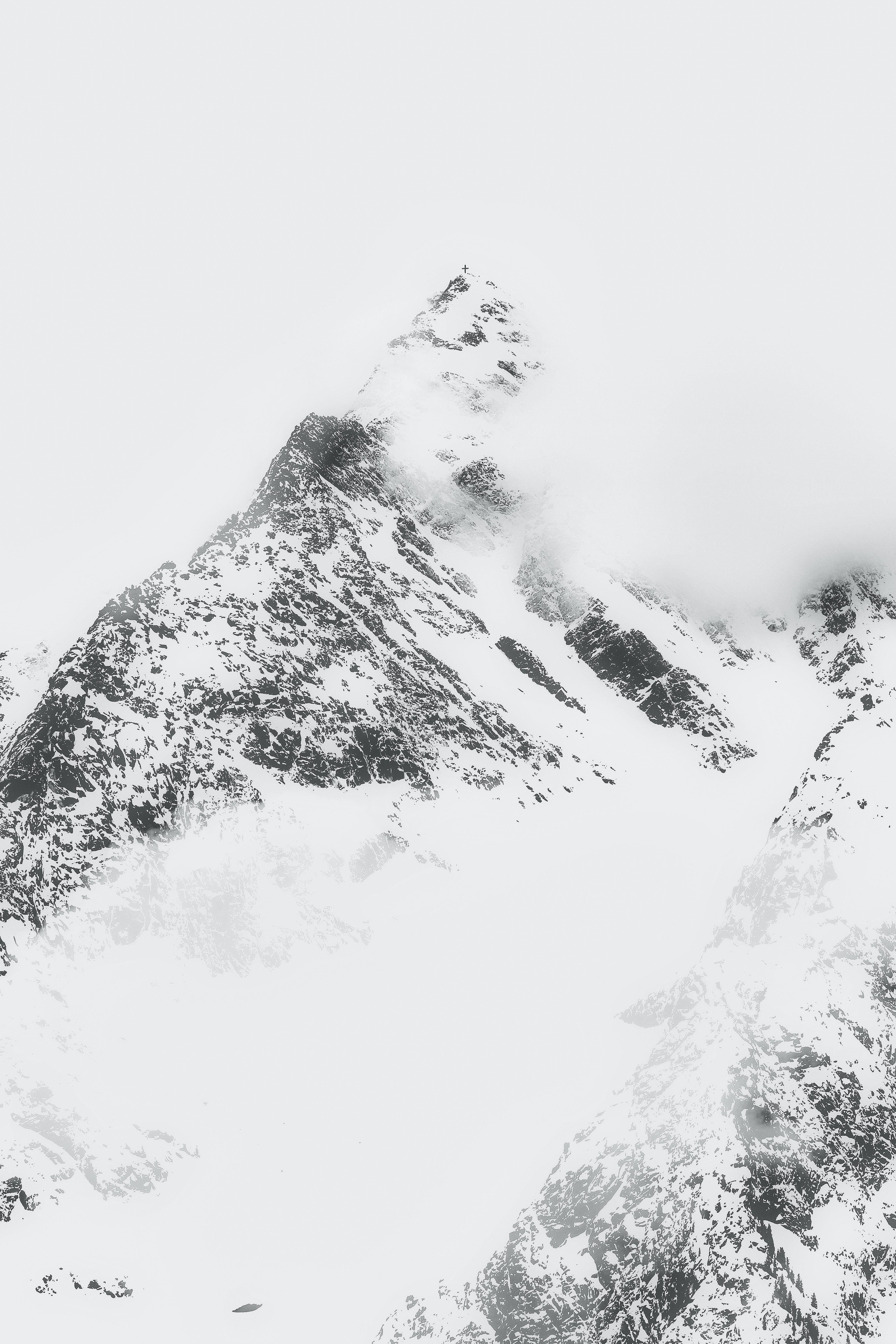 alpský, HD tapeta, hora