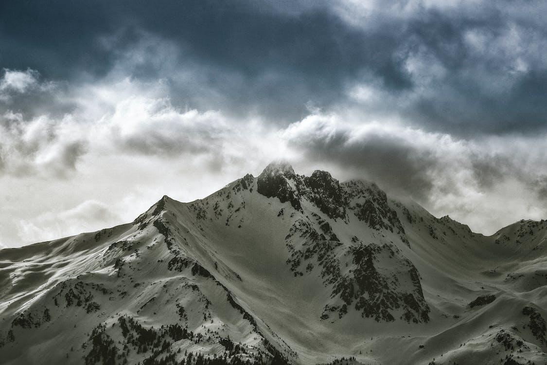 4k tapeter, alpin, berg