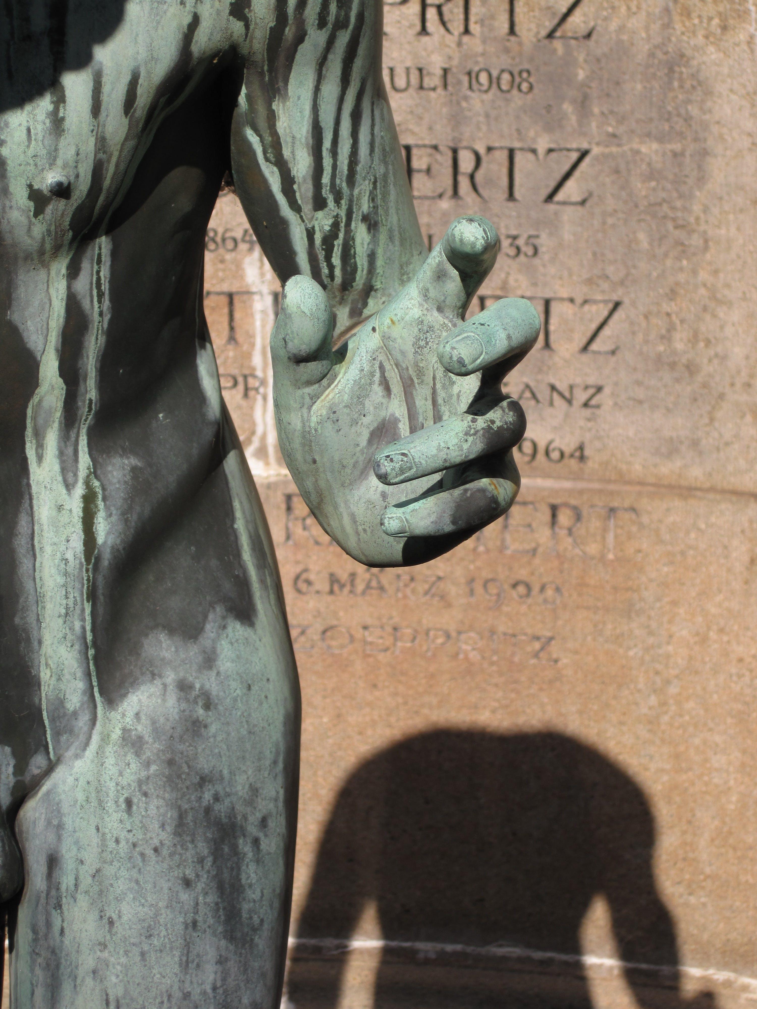 Grey Stone Statue