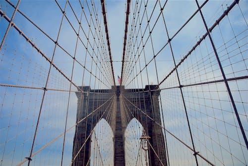 Foto stok gratis Amerika, Arsitektur, baja, beton