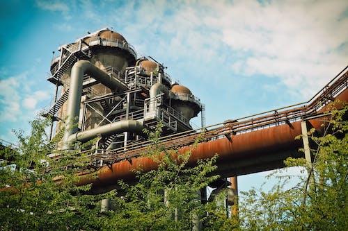 Základová fotografie zdarma na téma kov, mraky, ocel, palivo