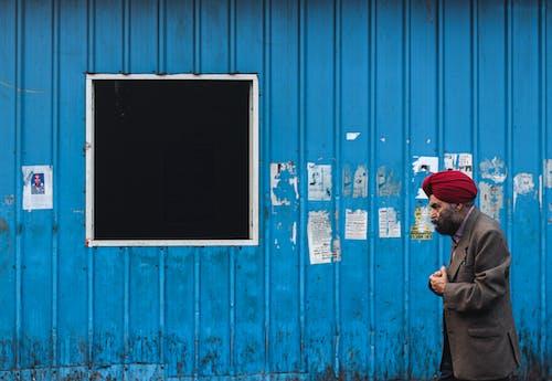 Gratis lagerfoto af arkitektur, blå, blåt vindue, bygning