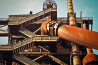 metal, park, factory