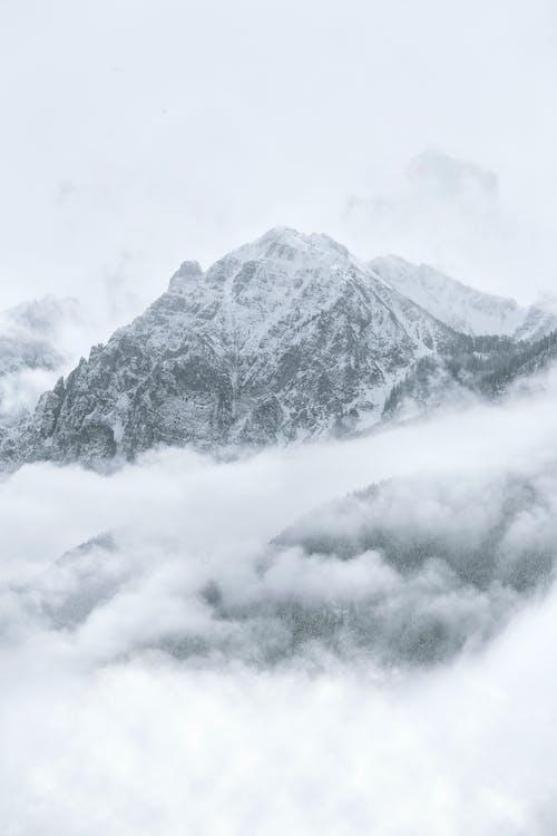achtergrond, behang, berg