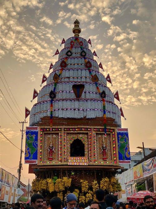 Fotos de stock gratuitas de #mobilechallenge, cielo al atardecer, festival, festival de la india