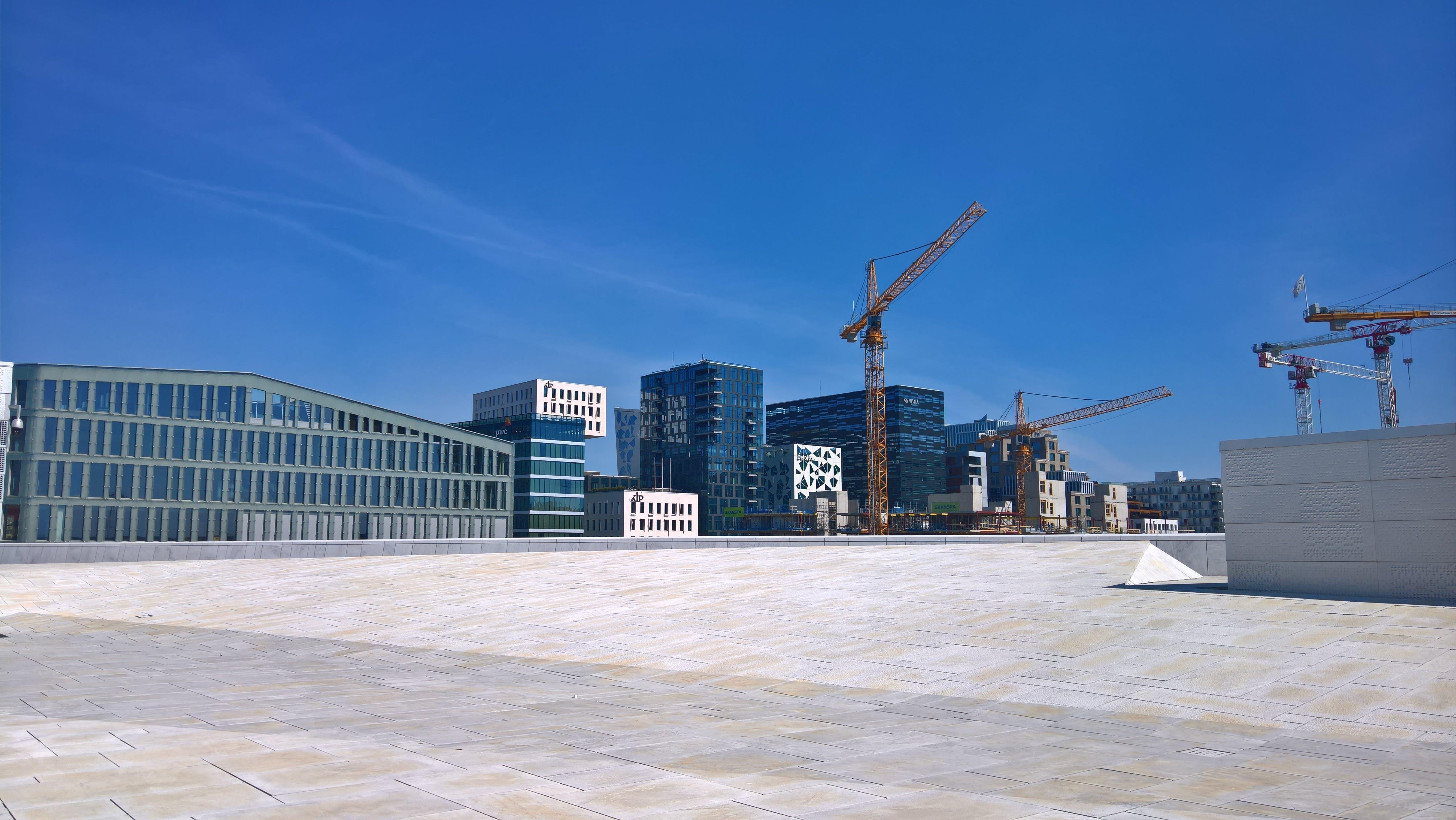 건축, 건축의, 도시, 블루의 무료 스톡 사진