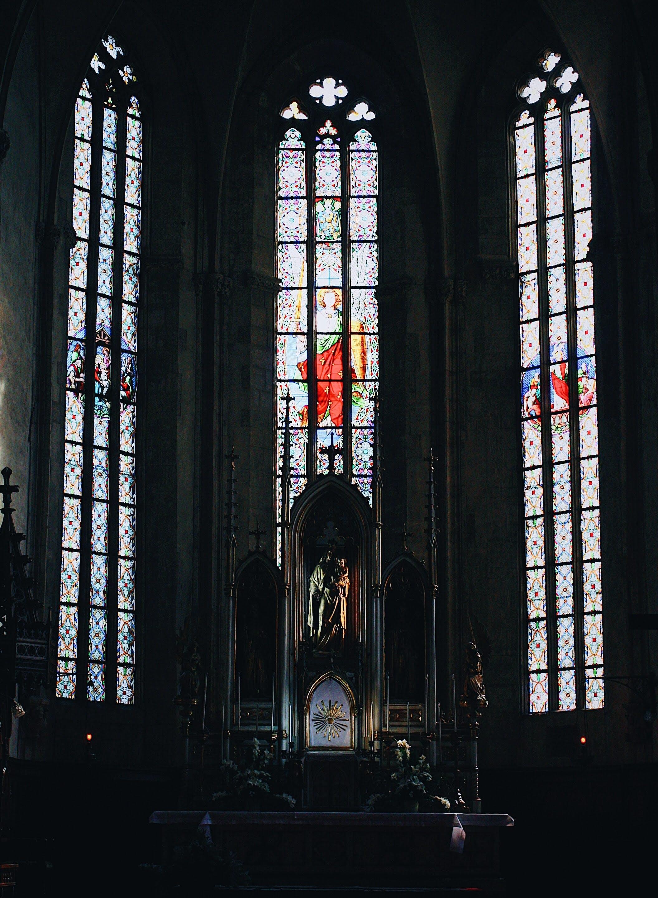 Fotos de stock gratuitas de abadía, adentro, altar, antiguo