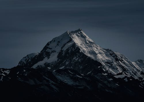 Mountain Photo during Nighttime