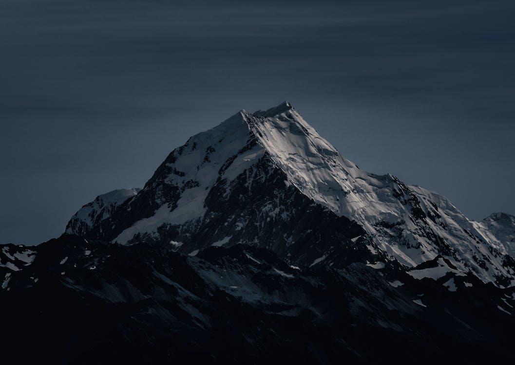 abend, abenteuer, berg