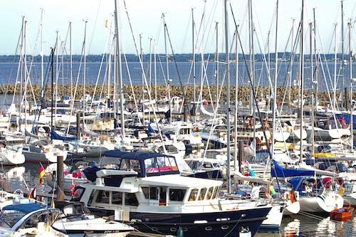 碼頭, 遊艇 的 免費圖庫相片